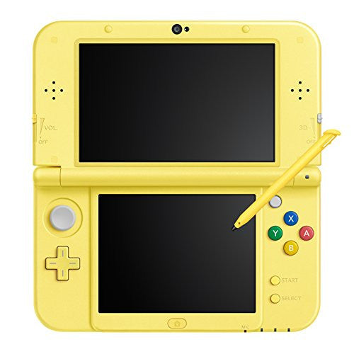 Image 3 for New Nintendo 3DS LL Pikachu Yellow - Pokemon Moon Set (incl. Pouch)
