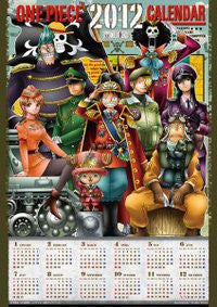 Image 2 for One Piece - Brook - Franky - Monkey D. Luffy - Nami - Nico Robin - Roronoa Zoro - Sanji - Tony Tony Chopper - Usopp - Wall Calendar (Ensky)