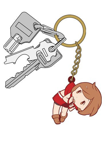 Image 3 for Vocaloid - Meiko - Tsumamare - Rubber Keychain - Keyholder (Cospa)