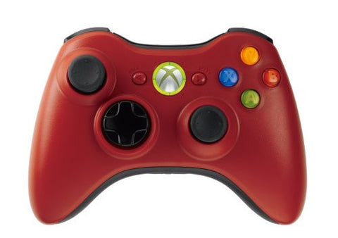 Image for Xbox 360 Accessory Bundle - Wireless Controller + Play & Charge Kit (Red)