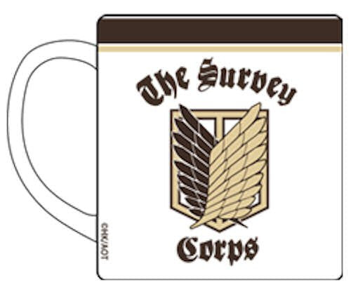Image 1 for Shingeki no Kyojin - Mug - Survey Corps (Cospa)