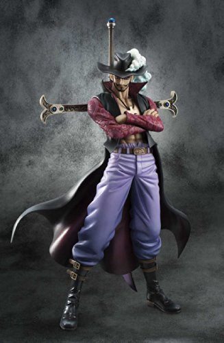 Image 2 for One Piece - Juracule Mihawk - Excellent Model - Portrait Of Pirates DX - 1/8 - Ver. 2 (MegaHouse)