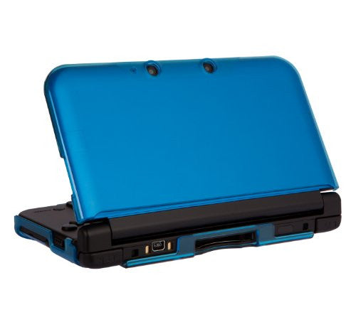 Image 2 for PC Cover for 3DS LL (Clear Blue)