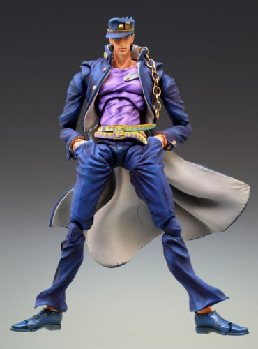 Image 2 for Jojo no Kimyou na Bouken - Stardust Crusaders - Kuujou Joutarou - Super Action Statue #12 - Second Ver. (Medicos Entertainment)