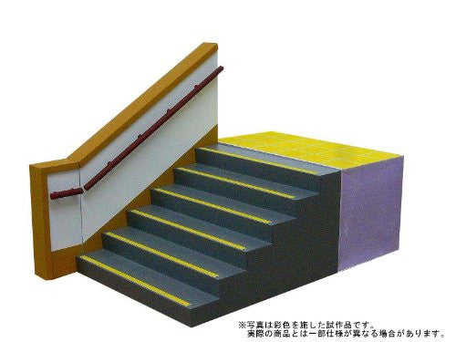Image 4 for 1/12 Figure Scenery Set Series - School Staircase - 1/12 (Skynet)