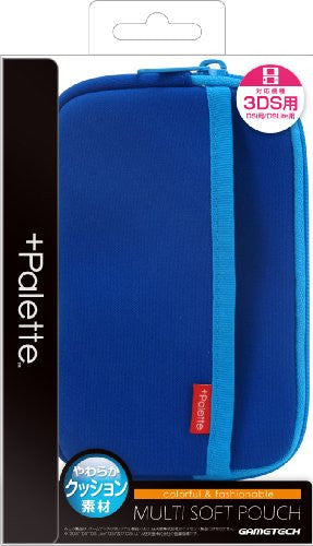 Image 1 for Palette Multi Soft Pouch for 3DS (Sapphire Blue)
