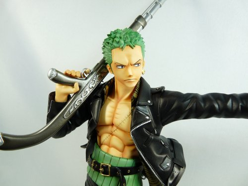 Image 3 for One Piece - Roronoa Zoro - Door Painting Collection Figure - 1/7 - The Three Musketeers Ver. (Plex)