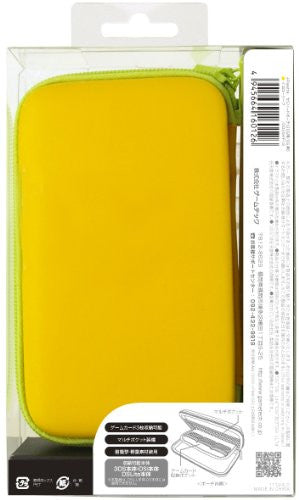 Image 2 for Palette Semi Hard Pouch for 3DS (Yellow Leaf)