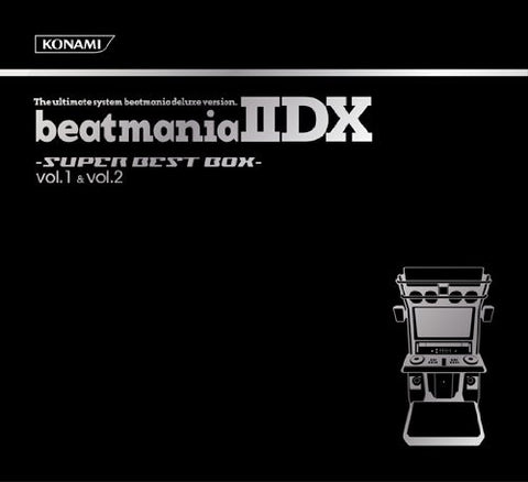 Image for beatmania IIDX -SUPER BEST BOX- vol.1 & vol.2 set