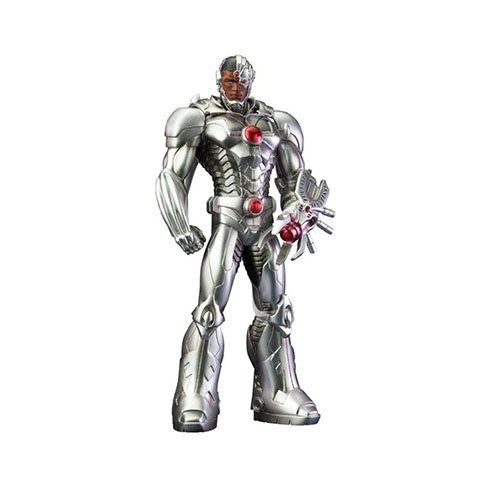 Image 1 for Justice League - Cyborg - DC Comics New 52 ARTFX+ - 1/10 (Kotobukiya)