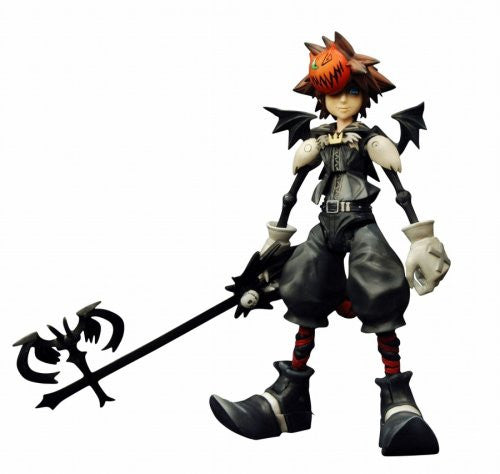 Image 1 for Kingdom Hearts - Sora - Play Arts - Kingdom Hearts Play Arts Vol.2 - no.4 - Halloween Town (Kotobukiya, Square Enix)