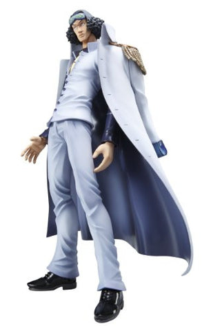 Image for One Piece - Aokiji - Excellent Model - Portrait Of Pirates DX - 1/8 - Repaint with Coat (MegaHouse)