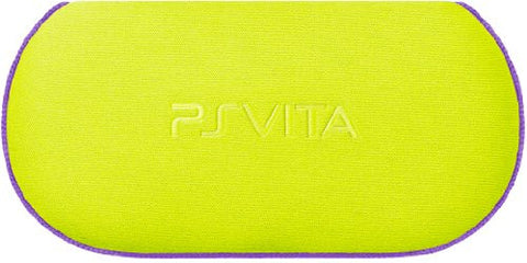 Image for PlayStation Vita Soft Case for New Slim Model PCH-2000 (Lime Green)