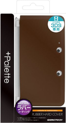Image 1 for Palette Rubber Hardcover for 3DS (Chocolate Pink)