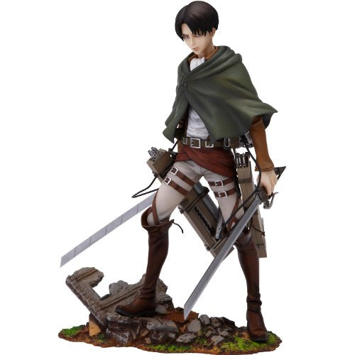 Image 1 for Shingeki no Kyojin - Levi - BRAVE-ACT - 1/8 (Sentinel)