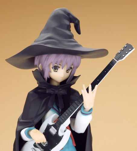 Image 3 for Suzumiya Haruhi no Yuuutsu - Nagato Yuki - Figma #015 - Evil Witch, School Uniform (Max Factory)
