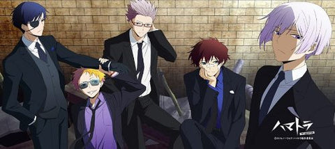 Image for Hamatora - Art - Birthday - Murasaki - Nice - Ratio - Sports Towel - Towel (M's)
