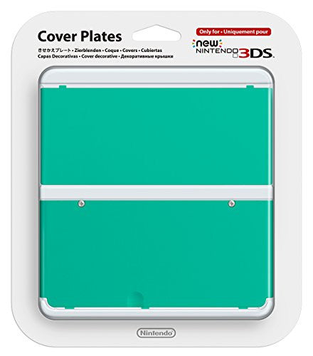 Image 1 for New Nintendo 3DS Cover Plates No.036 (Green)