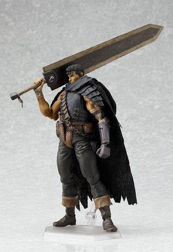 Image 4 for Berserk - Guts - Figma - Black Soldier ver. - 120 (Max Factory)