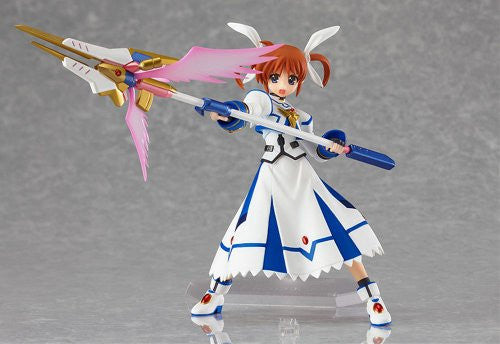 Image 3 for Mahou Shoujo Lyrical Nanoha The Movie 2nd A's - Takamachi Nanoha - Figma #159 - Sacred Mode ver. (Max Factory)