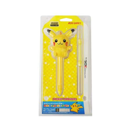 Image 1 for 3DS LL Pikachu Touch Pen