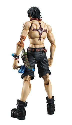 Image 2 for One Piece - Portgas D. Ace - Variable Action Heroes DX - 1/8 (MegaHouse)