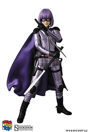 Image 5 for Kick-Ass 2 - Hit-Girl - Real Action Heroes #636 - 1/6 (Medicom Toy)