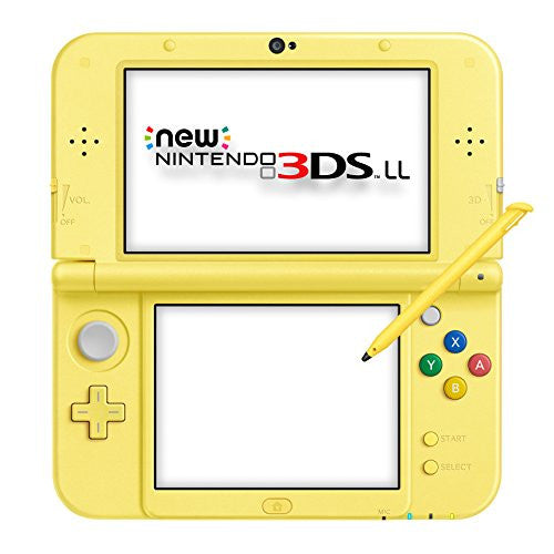 Image 4 for New Nintendo 3DS LL Pikachu Yellow - Pokemon Moon Set (incl. Pouch)