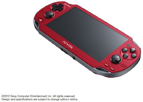 Image 5 for PSVita PlayStation Vita - 3G/Wi-Fi Model (Cosmic Red) (PCH-1100 AB03)