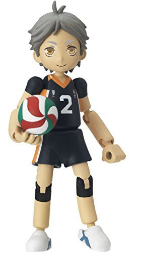 Image 2 for Haikyuu!! - Sugawara Koushi - Playgure PG05 (Takara Tomy)