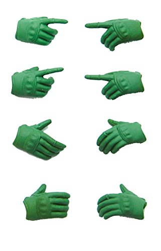 Image 1 for Figma - Little Armory #OP02 - Tactical Glove - 1/12 - Foliage Green (Tomytec)