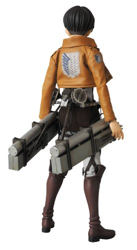 Image 4 for Shingeki no Kyojin - Levi - Real Action Heroes #662 - 1/6 (Medicom Toy)