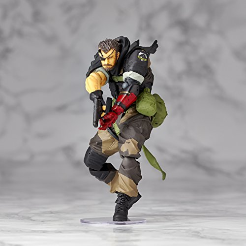 Image 4 for Metal Gear Solid V: The Phantom Pain - Naked Snake - Revolmini rm-012 - Revoltech - Venom ver. (Kaiyodo)