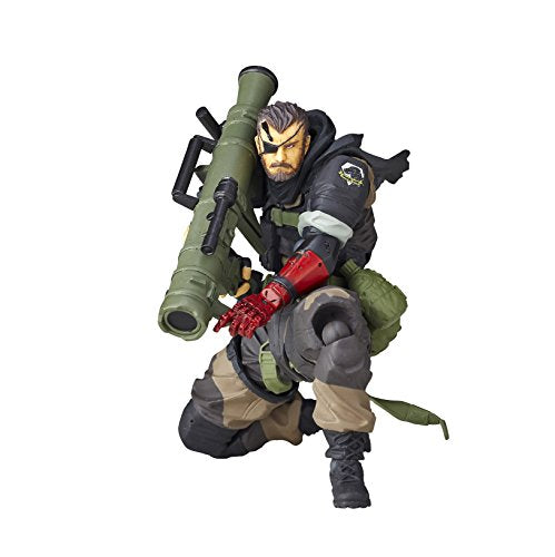 Image 1 for Metal Gear Solid V: The Phantom Pain - Naked Snake - Revolmini rm-012 - Revoltech - Venom ver. (Kaiyodo)