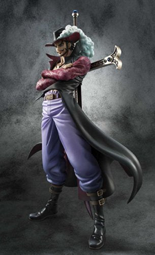 Image 3 for One Piece - Juracule Mihawk - Excellent Model - Portrait Of Pirates DX - 1/8 - Ver. 2 (MegaHouse)