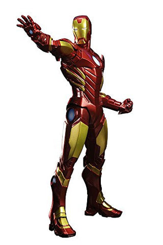 Image for The Avengers - Iron Man - ARTFX+ - Marvel The Avengers ARTFX+ - 1/10 - Red x Gold (Kotobukiya)