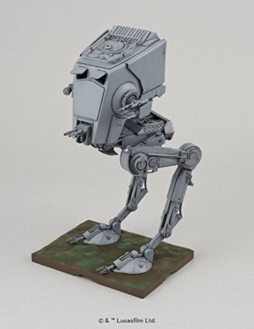 Image for Star Wars - AT-ST Walker - Star Wars Plastic Model - Spacecrafts & Vehicles - 1/48 (Bandai)