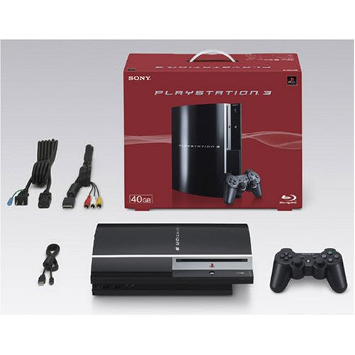 Image 2 for PlayStation3 Console (HDD 40GB Model) Clear Black - 110V