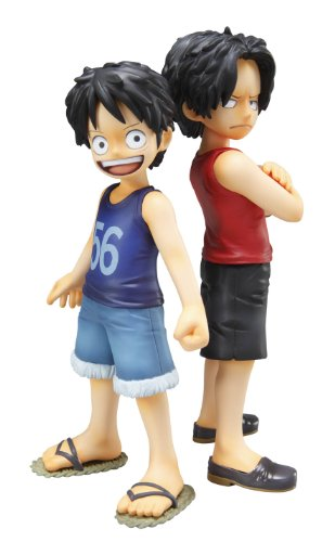 Image 1 for One Piece - Monkey D. Luffy - Portrait Of Pirates MILD - Excellent Model - 1/8 - CB-EX Brothers Bond (MegaHouse)