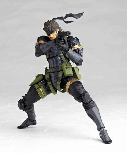 Image 3 for Metal Gear Solid Peace Walker - Naked Snake - Revoltech #131 (Kaiyodo)