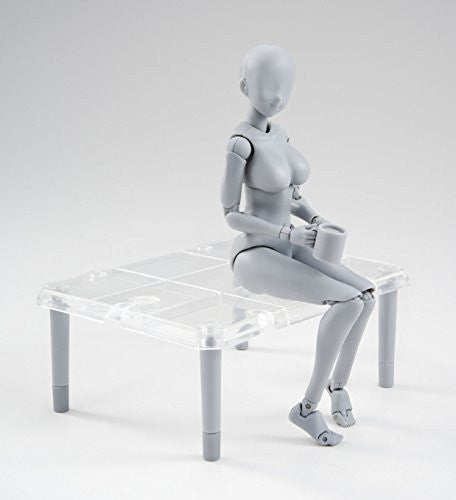 Image 7 for S.H.Figuarts - Body-chan - Yabuki Kentarou Edition, DX Set, Gray Color Ver.