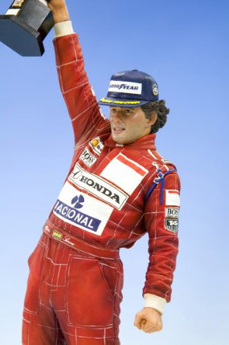 Image 2 for Formula 1 - Ayrton Senna - Fine Art Statue - 1/6 - 50th Birthday (Kotobukiya)