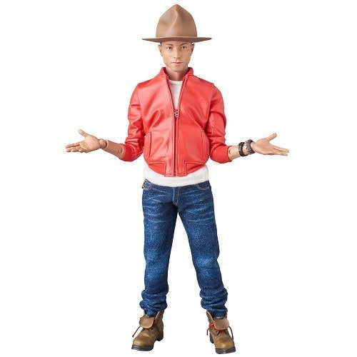 Image 2 for Pharrell Williams - Real Action Heroes No.755 - 1/6 - Get Lucky (Medicom Toy)