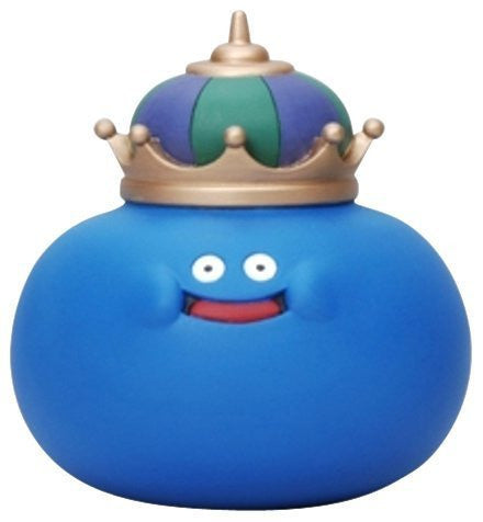 Dragon Quest - King Slime - Dragon Quest Sofubi Monster - 007 (Square Enix)