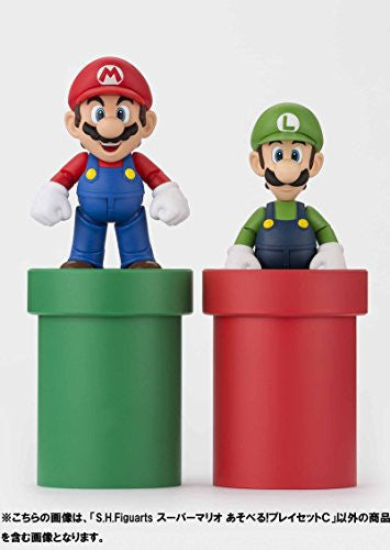 Image 11 for Super Mario Brothers - Met - Pakkun Flower - S.H.Figuarts - S.H.Figuarts Playset - Diorama Play Set C - C (Bandai)