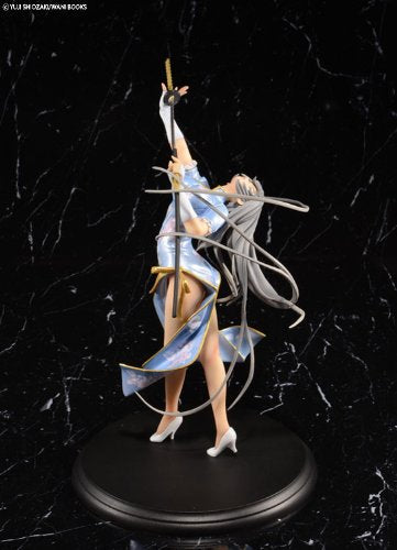Image 5 for Ikki Tousen - Chouun Shiryuu - 1/7 - China Dragon Dress Blue ver. (BEAT)