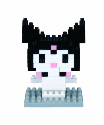 Image 1 for Onegai My Melody - Kuromi - Character Collection Series - Nanoblock NBCC-007 (Kawada)