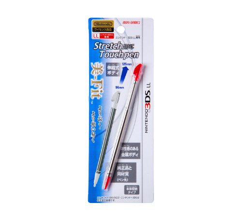 Image 1 for Stretch Touch Pen for 3DS LL (Red)