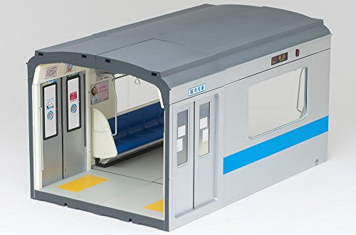 Image 8 for Parts Models Series 1/12 Interior Model Commuting Train  - (Blue Sheet) (Tomytec, Takara Tomy)