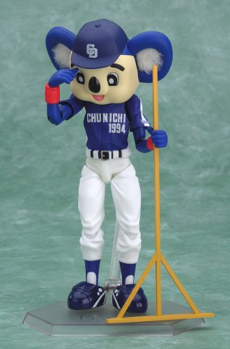 Image 4 for Chunichi Dragons - Doala - Figma #017 - Visitor Ver. (Max Factory)